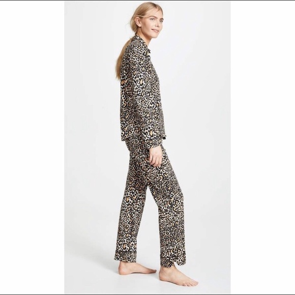PJ Salvage Other - PJ Salvage leopard cheetah print pajama pants